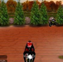 מירוץ אופנועים תלת מימד
