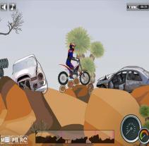 חגיגת אופנועים במדבר