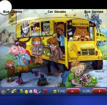 אוטובוס בית ספר חפץ מסתתר